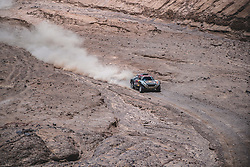 Cyril Despres (FRA) of X-raid Mini JCW Team races during stage 5 of Rally Dakar 2019 from Tacna to Arequipa, Peru on January 11, 2019. // Flavien Duhamel/Red Bull Content Pool // AP-1Y3N76YZW2111 // Usage for editorial use only // Please go to www.redbullcontentpool.com for further information. //