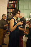 LARA FEIGEL; , The Love-charm of Bombs. Restless Lives in the Second World War. By Lara Feigel - book launch party. Bloomsbury Publishing, 50 Bedford Square, London, WC1, 17 JANUARY 2012.