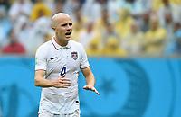 Fotball<br /> Tyskland v USA<br /> 26.06.2014<br /> VM 2014<br /> Foto: Witters/Digitalsport<br /> NORWAY ONLY<br /> <br /> Michael Bradley (USA)<br /> Fussball, FIFA WM 2014 in Brasilien, Vorrunde, USA - Deutschland