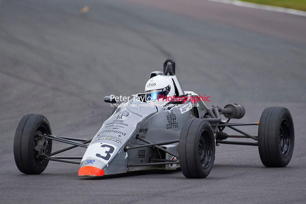 #3 Tom Brown Ray GR07 during Avon Tyres Formula Ford 1600 Northern Championship - Prost 89 Race 2 as part of the BRSCC Fun Cup Oulton Park 17th October 2015 at Oulton Park, Little Budworth, Cheshire, United Kingdom. October 17 2015. World Copyright Taylor/PSP. Copy of publication required for printed pictures.  Every used picture is fee-liable. http://archive.petertaylor-photographic.co.uk