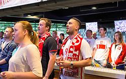 Poland fans arrive at the Sports Bar and Grill - Mandatory by-line: Robbie Stephenson/JMP - 16/06/2016 - FOOTBALL - Ashton Gate - Bristol, United Kingdom  - Germany vs Poland - UEFA Euro 2016