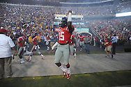 Ole Miss' defensive back Kendarius Webster (15) and the Rebels take the field for Ole Miss vs. LSU at Tiger Stadium in Baton Rouge, La. on Saturday, October 25, 2014. LSU won 10-7.