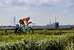 VAN EMDEN Jos from NETHERLANDS during Men Elite Time Trial at 2019 UEC European Road Championships, Alkmaar, The Netherlands, 8 August 2019.  <br /> <br /> Photo by Thomas van Bracht / PelotonPhotos.com <br /> <br /> All photos usage must carry mandatory copyright credit (Peloton Photos | Thomas van Bracht)