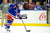 March 16, 2014: New York Rangers Right Wing Mats Zuccarello (36) 7214 during a regular season NHL Eishockey Herren USA game between the San Jose Sharks and the New York Rangers at Madison Square Garden in New York, NY. The Sharks defeated the NY Rangers 1-0. NHL Eishockey Herren USA MAR 16 Sharks at Rangers <br />