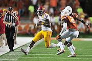 AUSTIN, TX - OCTOBER 18:  D'Vario Montgomery #8 of the Iowa State Cyclones breaks free against the Texas Longhorns on October 18, 2014 at Darrell K Royal-Texas Memorial Stadium in Austin, Texas.  (Photo by Cooper Neill/Getty Images) *** Local Caption *** D'Vario Montgomery