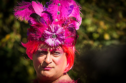A colourful character plays a role in The Ordinalia, a mystery play in the Penryn Festival in Cornwall