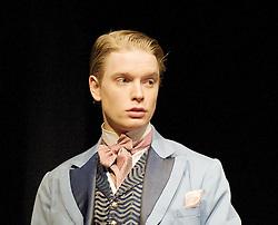 The Judas Kiss, the Duke of York's Theatre, London, Great Britain..Freddie Fox as Lord Alfred Douglas, January 18, 2013. Photo by Elliott Franks / i-Images. .