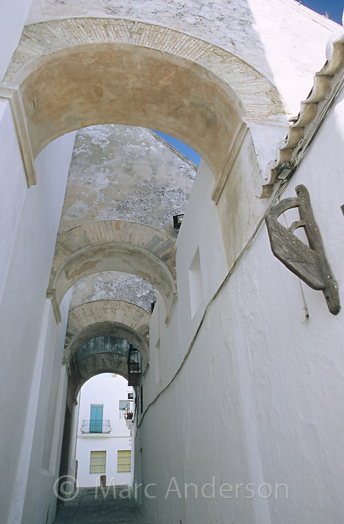 Architecture in Vejer de la Frontera, Spain