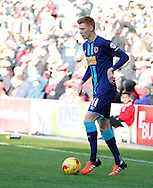Sam Clucas of Hull City during the Sky Bet Championship match at Ashton Gate, Bristol<br /> Picture by Mike Griffiths/Focus Images Ltd +44 7766 223933<br /> 21/11/2015