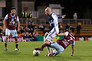 SYDNEY, AUSTRALIA - AUGUST 21: Melbourne Victory forward James Troisi (10) and APIA Leichhardt Tigers midfielder Howard Fondyke (7) come together at the FFA Cup Round 16 soccer match between APIA Leichhardt Tigers FC and Melbourne Victory at Leichhardt Oval in Sydney on August 21, 2018. (Photo by Speed Media/Icon Sportswire)