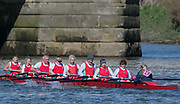 Mortlake/Chiswick, GREATER LONDON. United Kingdom.  Wallingford Rowing Club. Mx.MasD.8+, competing in the 2017 Vesta Veterans Head of the River Race, The Championship Course, Putney to Mortlake on the River Thames.<br /> <br /> <br /> Sunday  26/03/2017<br /> <br /> [Mandatory Credit; Peter SPURRIER/Intersport Images]