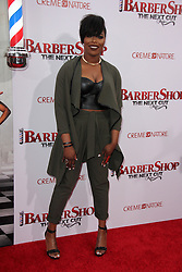 """Ta'Rhonda Jones, at the """"Barbershop The Next Cut"""" Premiere, TCL Chinese Theater, Hollywood, CA 04-06-16. EXPA Pictures © 2016, PhotoCredit: EXPA/ Photoshot/ Martin Sloan<br /> <br /> *****ATTENTION - for AUT, SLO, CRO, SRB, BIH, MAZ, SUI only*****"""