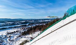 18.03.2018, Vikersundbakken, Vikersund, NOR, FIS Weltcup Ski Sprung, Raw Air, Vikersund, Finale, im Bild Stefan Kraft (AUT) // Stefan Kraft of Austria during the 4th Stage of the Raw Air Series of FIS Ski Jumping World Cup at the Vikersundbakken in Vikersund, Norway on 2018/03/18. EXPA Pictures © 2018, PhotoCredit: EXPA/ JFK