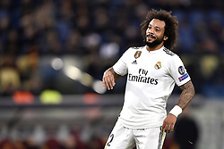 November 27, 2018 - Rome, Rome, Italy - Marcelo of Real Madrid during the UEFA Champions League match between Roma and Real Madrid at Stadio Olimpico, Rome, Italy on 27 November 2018. (Credit Image: © Giuseppe Maffia/Pacific Press via ZUMA Wire)