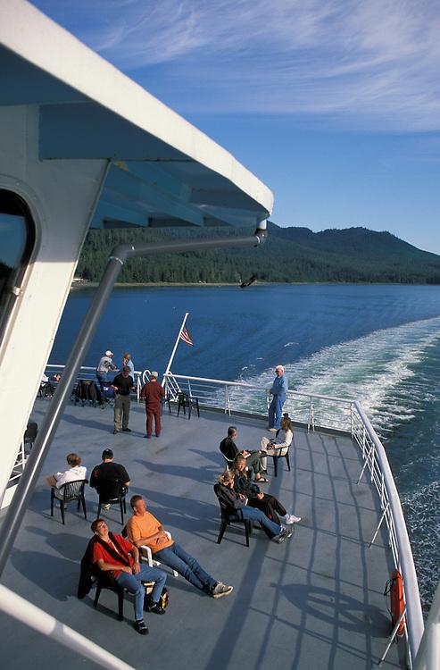 Alaska State Ferry, Inside Passage, Alaska, USA