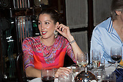 PRINCESS TAMARA CZARTORYSKI; Dinner in aid of the China Tiger Revival hosted by Sir David Tang and Stephen Fry  at China Tang, Park Lane, London. 1 October 2013. ,