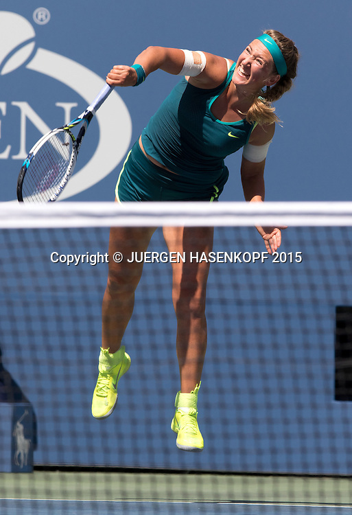 Victoria Azarenka (BLR)<br /> <br /> Tennis - US Open 2015 - Grand Slam ITF / ATP / WTA -  Flushing Meadows - New York - New York - USA  - 7 September 2015.