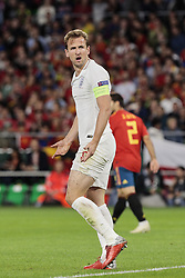England's Harry Kane during UEFA Nations League 2019 match between Spain and England at Benito Villamarin stadium in Sevilla, Spain. October 15, 2018. Photo by A. Perez Meca/Alterphotos/ABACAPRESS.COM