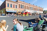 The Westward Ho Parade at the Pendleton Round Up Rodeo, Pendleton OR, USA