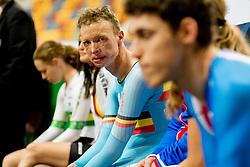 , BEL, Podium 1km TT, 2015 UCI Para-Cycling Track World Championships, Apeldoorn, Netherlands