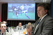 Roman Kosecki - football SO ambassador during the 12th Special Olympics Football Conference 2014 at Novotel Hotel in Warsaw on April 11, 2014.<br /> <br /> Poland, Warsaw, April 11, 2014<br /> <br /> Picture also available in RAW (NEF) or TIFF format on special request.<br /> <br /> For editorial use only. Any commercial or promotional use requires permission.<br /> <br /> Mandatory credit:<br /> Photo by © Adam Nurkiewicz / Mediasport