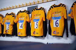 General view inside the taps changing room. - Mandatory by-line: Alex James/JMP - 25/01/2020 - RUGBY - Sixways Stadium - Worcester, England - Worcester Warriors v Wasps - Gallagher Premiership Rugby
