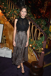 ALEXA CHUNG at the UK launch of WhoWhatWear UK held at Loulou's, Hertford Street, London on 24th November 2015.