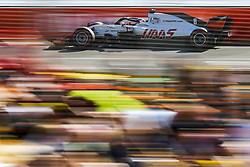 March 23, 2018 - Melbourne, Victoria, Australia - GROSJEAN Romain (fra), Haas F1 Team VF-18 Ferrari, action during 2018 Formula 1 championship at Melbourne, Australian Grand Prix, from March 22 To 25 - Photo  Motorsports: FIA Formula One World Championship 2018, Melbourne, Victoria : Motorsports: Formula 1 2018 Rolex  Australian Grand Prix, (Credit Image: © Hoch Zwei via ZUMA Wire)