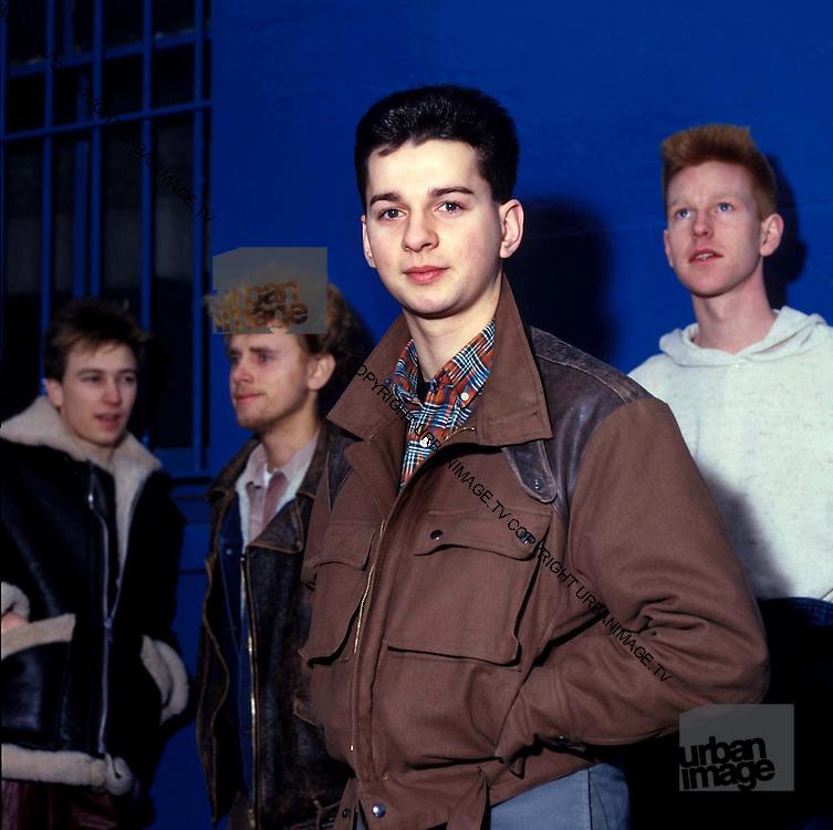 Depeche Mode at Pasadena Rose Bowl, June 1988.