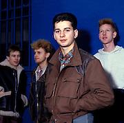 Depeche Mode, photographed at Pasadena Rose Bowl, June 1988.