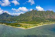 Kualoa Park, Kaneohe Bay, Oahu, Hawaii