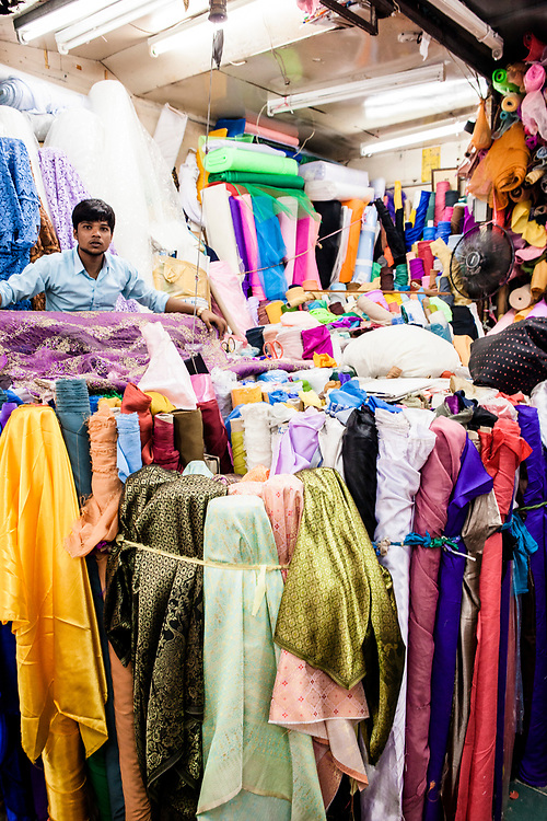 Pharurat Fabric Market in Little India