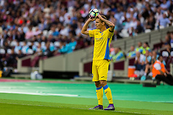 Jure Balkovec of NK Domzale during 2nd Leg football match between West Ham United FC and NK Domzale in 3rd Qualifying Round of UEFA Europa league 2016/17 Qualifications, on August 4, 2016 in London, England.  Photo by Ziga Zupan / Sportida