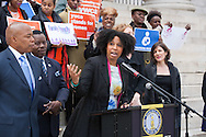April 16, 2015. Seleni Perinatal Workshop and BK FamilyFriends Rally at Borough Hall, Brooklyn. Attendance by Brooklyn Borough President Eric Adams and Seleni Institue founder, Rebecca Benghiat.  Photography by Margarita Corporan
