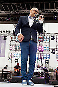 Chico Debarge performs at the African American Festival on Saturday, June 21, 2014 in Baltimore, MD.