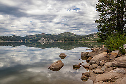 """Marlette Lake 1"" - Photograph of Marlette Lake, shot in the morning."