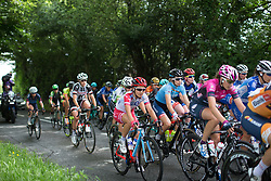 Cecilie Uttrup Ludwig (DEN) of Cervélo-Bigla Cycling Team rides mid-pack during Stage 3 of the OVO Energy Women's Tour - a 151 km road race, between Atherstone and Royal Leamington Spa on June 9, 2017, in Warwickshire, United Kingdom. (Photo by Balint Hamvas/Velofocus.com)