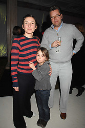 Artist NATASHA LAW, her daughter EDIE RYAN-LAW and CHARLIE PHILLIPS at a receotion to launch the Kiss It Better Appeal in aid of the Great Ormond Street Hosoital supported by Clinique - held at Harrods, Knightsbridge, London on 30th January 2008.<br /> <br /> NON EXCLUSIVE - WORLD RIGHTS (EMBARGOED FOR PUBLICATION IN UK MAGAZINES UNTIL 1 MONTH AFTER CREATE DATE AND TIME) www.donfeatures.com  +44 (0) 7092 235465
