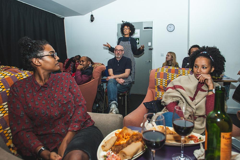 "Photographer Medhin Paolos (""Asmarina"") during The Royal African Society's Annual Film Festival 2016. London, Tuesday 3 November 2016. (Photos/Ivan Gonzalez)"