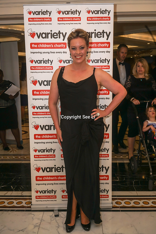 London, UK, 8th June 2017. A hosts of Vip's and guests attends the Variety's 15th Gastronomic Evening is a Children Charity at The Dorchester, 55 Park Lane, London. by See Li