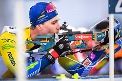 March 16, 2019 - –Stersund, Sweden - 190316 Martin Ponsiluoma of Sweden competes in the Men's 4x7,5 km Relay during the IBU World Championships Biathlon on March 16, 2019 in Östersund..Photo: Petter Arvidson / BILDBYRÃ…N / kod PA / 92269 (Credit Image: © Petter Arvidson/Bildbyran via ZUMA Press)