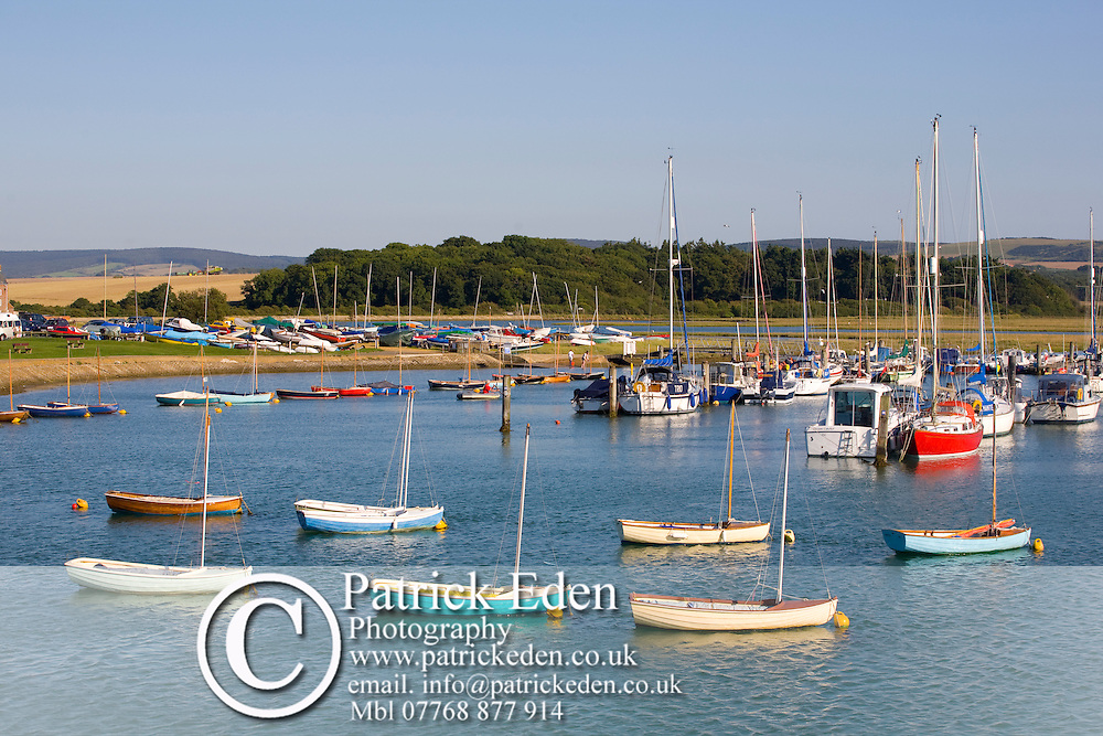 River Yar  Dinghies Yachts Ferry Quay Harbour Harbor Yarmouth Isle of Wight England photography photograph canvas canvases