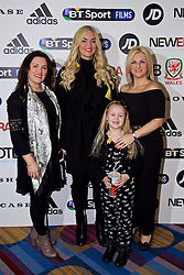 NANTGARW, WALES - Wednesday, March 1, 2017: Suzanne Twamley and guests attend the premier of Don't Take Me Home - the incredible true story of Wales' Euro 2016 at Showcase Cinema Nantgarw on St. David's Day. (Pic by David Rawcliffe/Propaganda)