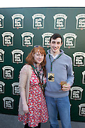 30/04/2014. Grainne Kirnan and Mathew Hurley at the Jameson Cult Film Club screening of The Usual Suspects in the Black Box Galway. <br />  .Photo:Andrew Downes