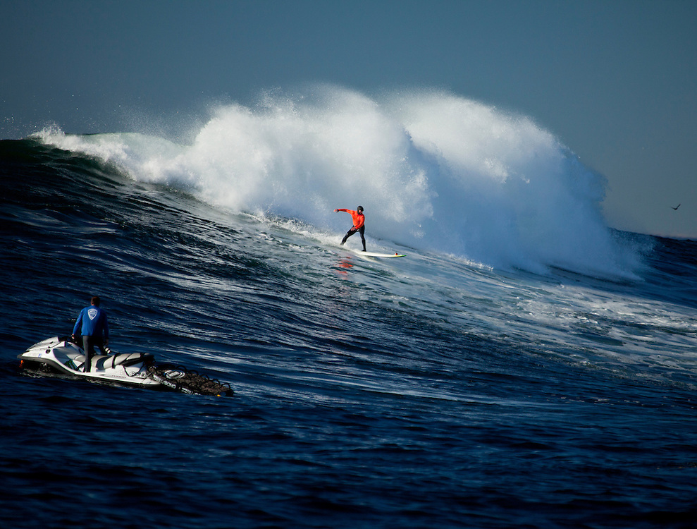 Mavericks, Big Wave Surf, Ca.