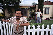 Joshi family from Nepal, now living in Los Angeles, California. MODEL RELEASED.