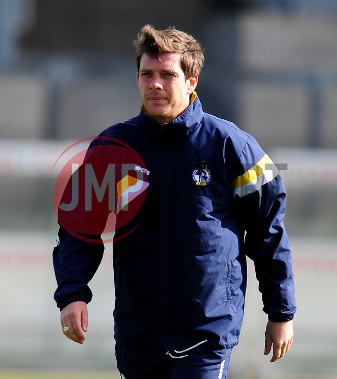 Bristol Rovers manager Darrell Clarke - Photo mandatory by-line: Alex James/JMP - Mobile: 07966 386802 - 31/03/2015 - SPORT - Football - Bristol - Memorial Stadium - Vanarama Football Conference - Bristol Rovers Open Training Session