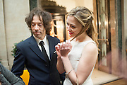 MICHAEL ACTON SMITH; KATHRYN PARSONS;  ( WINNER OF THE NEW GENERATION AWARD ) The Veuve Clicquot Business Woman Of The Year Award, celebrating women's excellence in business and commitment to sustainability. Claridge's, Brook Street, London, 22 April 2013