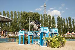 Tovek, Evelina (SWE), Castello<br /> Berlin - Global Jumping Berlin 2017<br /> © www.sportfotos-lafrentz.de/Stefan Lafrentz
