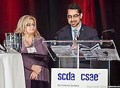 SCDA Quebec : prix de présence, repas et cocktail. 14/11/14
